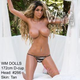 WM 172cm D-cup REESE Realistic TPE Sex Doll