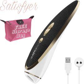 Satisfyer Luxury Haute Couture Clitoral Stimulator Vibrator