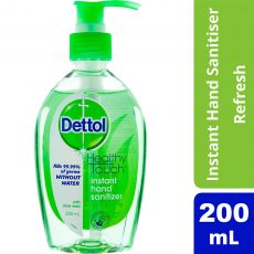 DETTOL Instan Hand Sanitiser 200ml with Aloe Vera