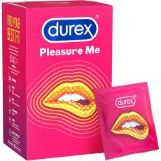 DUREX Pleasure Me Ribbed Dotted Condoms 30 Pack
