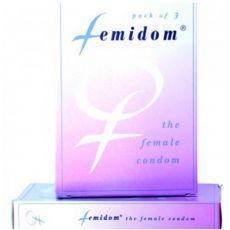Femidom Female Condom 3 Pk