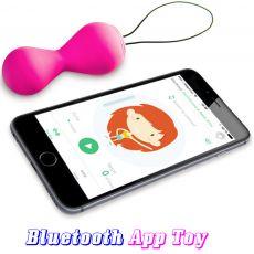 GVibe Gballs 2 App Petal Rose Kegel Balls Bluetooth Wearable Sex Toy