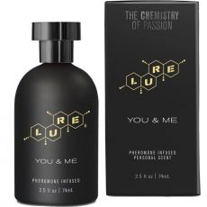 TOPCO Lure You and Me Pheromone infused Unisex Perfume Spray Black Label