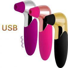 MYSG PRO X5 Air Pulse Clitoral Stimulator Plus Vibration USB 3 Colours