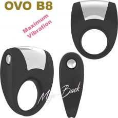 B8 Vibrating Ring - Black