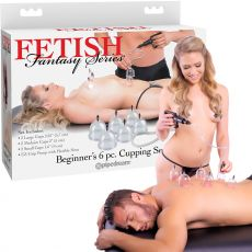 PIPEDREAM Fetish Fantasy Series Beginner's 6pc. Cupping Set