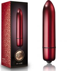 ROCKS OFF Truly Yours Red Alert 120mll Bullet 10-Speed Vibrator