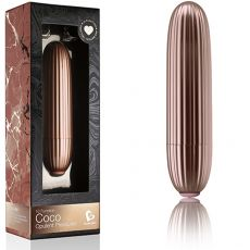 ROCKS OFF Coco Rose Gold 10-Speed Bullet Vibrator