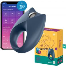 SATISFYER ROYAL ONE BLUETOOTH APP CONTROL VIBRATING COCK RING