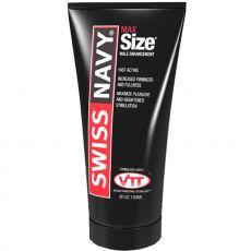 Swiss Navy Max Size Cream 147ml (5oz) Male Enhancement