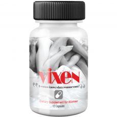 Vixen 12 Pill Bottle Natural Women aphrodisiac