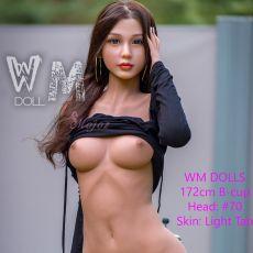 WM 172cm B-cup ZURI Realistic TPE Sex Doll