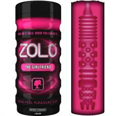 ZOLO REAL FEEL GIRLFRIEND Male Pocket Pussy VACUUM Masturbator Vagina