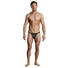 Male Power Rip Off Thong-Black-Small/Medium