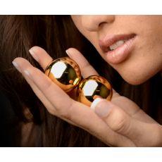 Sirs Golden Geisha Ben Wa Balls kegel  1.3 inch