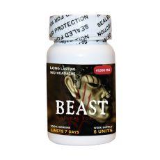 Beast 6 Pill Bottle Male enhancement stamina erection