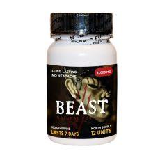Beast 12 Pill Bottle male enhancement stamina erection stay hard