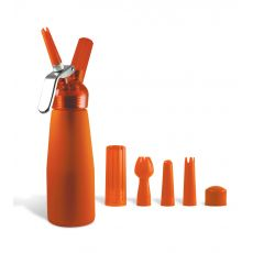 Special Blue 1/2 Pint Whip Cream Dispenser Orange