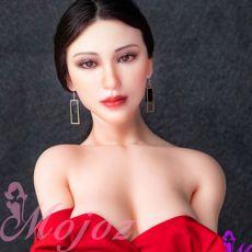 6YE 171cm D-Cup SILICONE HEAD AUBREE Realistic TPE Sex Doll