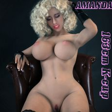 AF 163cm K-cup AMANDA Realistic TPE Sex Doll