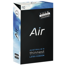 Condom Ultra Thin AIR 10PK 52mm - (Sold In Packs Of 6)