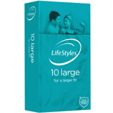 Ansell Lifestyles Condoms 10's Large