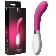 Luna Apollo G-Spot Vibrating Massager Wand Clitoral Stimulator Vibrator Pink