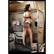 Airline Bra Skirt Scarf Badge & Headwear (D)
