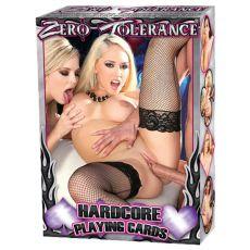 Zero Tolerance Hardcore Playing Cards