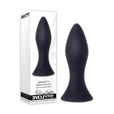 Evolve Mighty Mini Plug Vibrating Anal Plug USB rechargeable