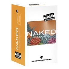 Four Seasons Naked Allsorts Condoms 20 pack