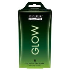 Four Seasons Glow N' Dark Condoms 8-pack