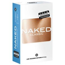 Four Seasons Naked Classic Condoms 12-pack