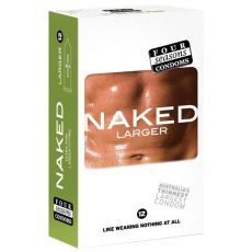 Four Seasons Naked Larger Fitting Condoms 12-pk