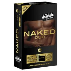 Four Seasons Naked Duo Condoms 10-pk