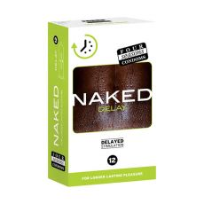 Four Seasons Naked Delay Condoms 12-pk