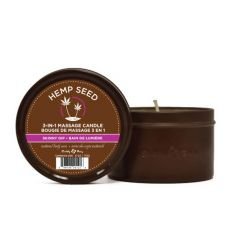 (Earthly Body) EB Hemp Seed 3 in 1 Massage Candle - SKINNY DIP