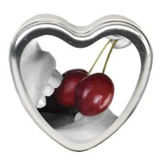 (Earthly Body) EB Edible Heart Massage Candle - Cherry - 113g