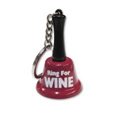 Ring For Wine Keychain Bell