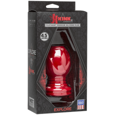"Wet Works - Explore - Platinum Premium Silicone Plug 4.5"" (Red)"