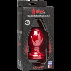 """Wet Works - Explore - Platinum Premium Silicone Plug 4.5"""" (Red)"""