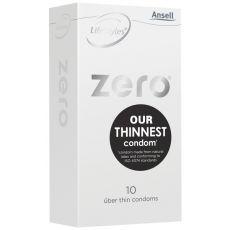 Ansell Lifestyles ZERO Condoms 10's