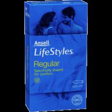 Ansell Lifestyles Condoms 10's Regular