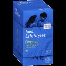 Ansell Lifestyles Condoms Regular 40's