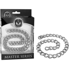 """Linkage - 12"""" Steel Connector Chain (Silver)"""