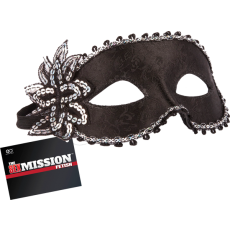 Masquerade Mask Black BDSM