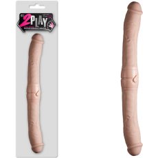 "14.5"" 2 Play Vibrating Double Dong (Flesh)-FPBJ074A00-001"