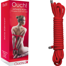 Japanese Rope - 10m (Red)