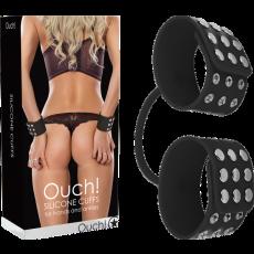 Silicone Cuffs (Black)
