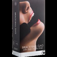 Brace Ball Gag (Black)